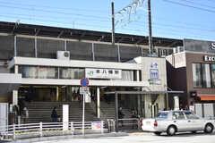 各線・本八幡駅の様子。(2017-12-25,共用部,ENVIRONMENT,1F)