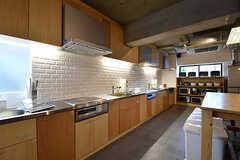 キッチンの様子2。(2016-12-22,共用部,KITCHEN,1F)