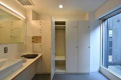 各専有部ごとにロッカーと棚が用意されています。(UNIT A)(2016-12-22,共用部,OTHER,1F)