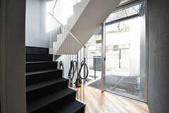 階段の様子。(2016-12-22,共用部,OTHER,1F)