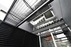 不思議な作りの建物です。(UNIT C・208号室)(2016-12-22,専有部,ROOM,2F)