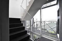 階段の様子。(2016-12-22,共用部,OTHER,4F)