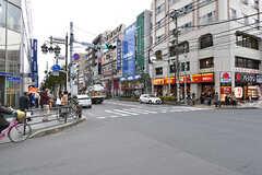 駅前の商店街の様子。(2016-12-22,共用部,ENVIRONMENT,1F)