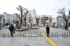 駅前広場の様子。(2016-12-22,共用部,ENVIRONMENT,1F)