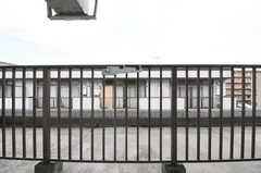 ベランダの様子。(303号室)(2011-03-24,共用部,OTHER,3F)