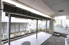 駐輪場の様子。(2011-03-24,共用部,GARAGE,1F)