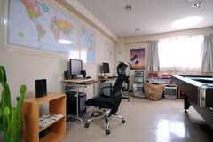 共用PCの様子。(2010-04-14,共用部,PC,1F)