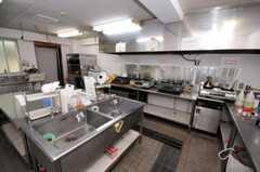 シェアハウスのキッチンの様子。(2010-04-14,共用部,KITCHEN,1F)