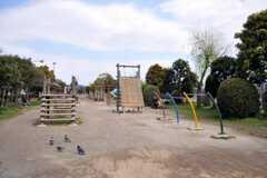 シェアハウスの近くにある公園の様子。(2010-04-14,共用部,ENVIRONMENT,1F)