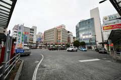 各線・市川駅前の様子。(2020-12-03,共用部,ENVIRONMENT,1F)