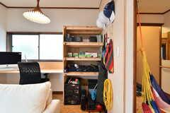 棚にはDIY用の道具が並んでいます。(2020-07-22,共用部,OTHER,1F)