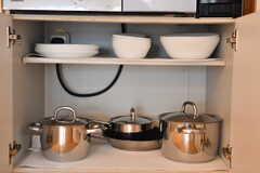 食器類・鍋類の様子。(2020-07-22,共用部,KITCHEN,1F)