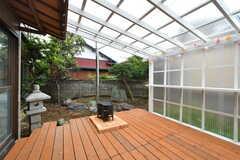 テラスは屋根付きです。(2020-07-22,共用部,OTHER,1F)