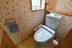ウォシュレット付きトイレの様子。(2018-10-16,共用部,TOILET,1F)
