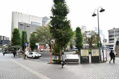 JR常磐線・北小金駅周辺の様子。(2018-10-16,共用部,ENVIRONMENT,1F)