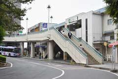 JR常磐線・北小金駅の様子。(2018-10-16,共用部,ENVIRONMENT,1F)