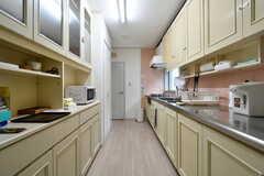 キッチンの様子。(2020-01-27,共用部,KITCHEN,1F)