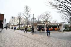 柏の葉キャンパス駅前の様子2。(2020-01-27,共用部,ENVIRONMENT,1F)