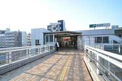 JR常磐線・南柏駅前の様子。(2015-10-19,共用部,ENVIRONMENT,1F)