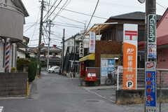 東武アーバンパークライン・逆井駅からシェアハウスへ向かう道の様子。郵便局があります。(2019-08-22,共用部,ENVIRONMENT,1F)