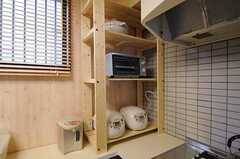 キッチン家電の様子。(2012-02-01,共用部,KITCHEN,1F)