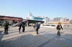 各線・松戸駅の様子。(2012-02-01,共用部,ENVIRONMENT,1F)