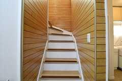 階段の様子。(2016-11-28,共用部,OTHER,1F)