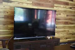 TVの様子。(2018-06-18,共用部,TV,1F)