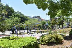 シェアハウス周辺の小金公園の様子。(2019-05-08,共用部,ENVIRONMENT,1F)