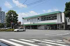 JR常磐線・北松戸駅の様子。(2012-08-07,共用部,ENVIRONMENT,1F)