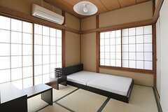 専有部の様子。和室です。(101号室)(2012-08-28,専有部,ROOM,1F)