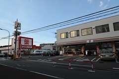 新京成電鉄線・常盤平駅からシェアハウスへ向かう道の様子。(2014-11-13,共用部,ENVIRONMENT,2F)