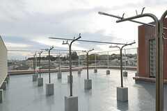 屋上の様子。(2013-11-28,共用部,OTHER,4F)