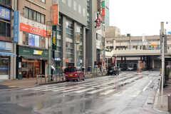 松戸駅前の様子。(2018-03-20,共用部,ENVIRONMENT,1F)