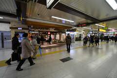 各線・松戸駅構内の様子。(2018-03-20,共用部,ENVIRONMENT,1F)