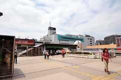 JR常磐線・松戸駅の様子。(2012-06-14,共用部,ENVIRONMENT,1F)