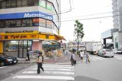 各線八柱駅前の様子。(2010-07-01,共用部,ENVIRONMENT,1F)