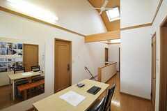 天井が高く、気持ち良い空間。(2013-07-30,共用部,OTHER,2F)