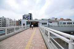 JR・南柏駅の様子。(2013-07-30,共用部,ENVIRONMENT,1F)