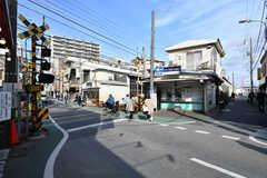 京成本線・京成大久保駅の様子。(2020-02-19,共用部,ENVIRONMENT,1F)