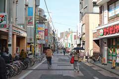 京成本線・京成大久保駅前の商店街。(2020-02-19,共用部,ENVIRONMENT,1F)