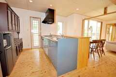 シェアハウスのキッチンの様子。(2009-06-26,共用部,KITCHEN,1F)
