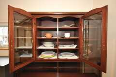 食器棚の様子。(2009-06-26,共用部,OTHER,1F)