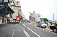 京成成田駅からシェアハウスへ向かう道の様子。(2009-06-26,共用部,ENVIRONMENT,1F)
