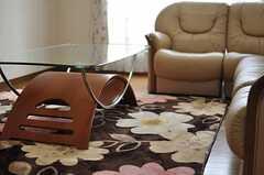 ソファテーブルの様子。(2014-02-19,共用部,LIVINGROOM,2F)