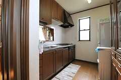 キッチンの様子。(2014-02-19,共用部,KITCHEN,2F)