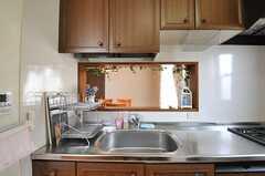 キッチンの様子2。(2014-02-19,共用部,KITCHEN,2F)