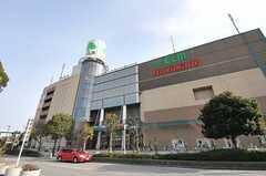 京成電鉄本線・公津の杜駅ちかくの商業施設の様子。(2014-02-19,共用部,ENVIRONMENT,1F)