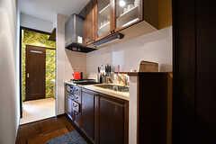 1階にもキッチンがあります。(2017-01-30,共用部,KITCHEN,1F)