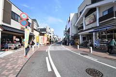 成田山に向かう参道の様子。(2017-01-30,共用部,ENVIRONMENT,1F)